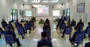 Lanud Adisutjipto Ikuti Live Streaming Upacara HUT ke-75 Republik Indonesia