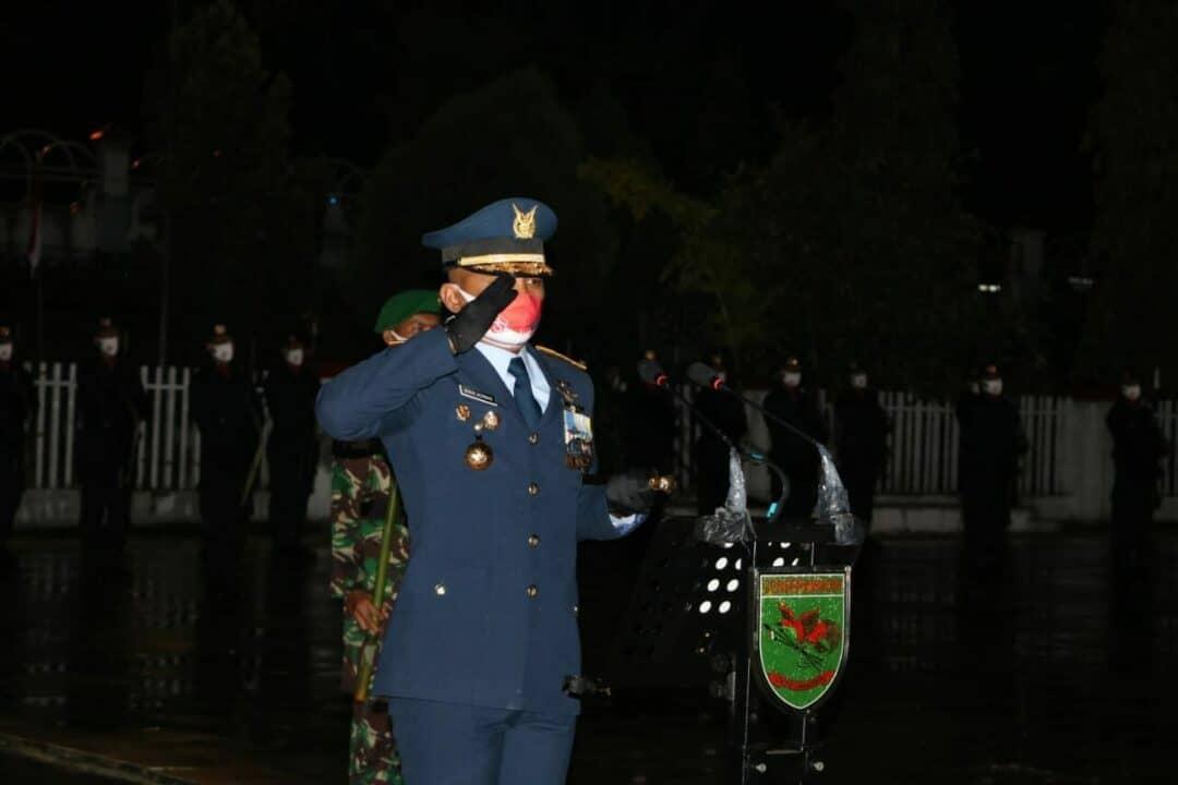 Danlanud Silas Papare Pimpin AKRS di TMP Kesuma Trikora Waena