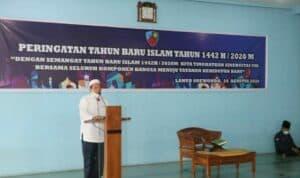 Seluruh Umat Muslim Lanud Soewondo Peringati Tahun Baru Islam 1442 H