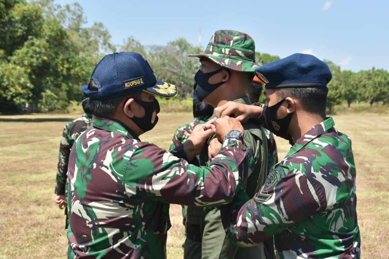 Koopsau II Gelar Latihan Survival Tempur di Lanud Iswahjudi