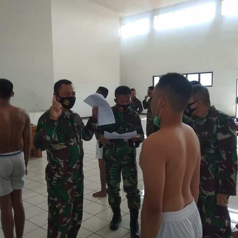 Danlanud Atang Sendjaja Pimpin Sidang Pantukhir Tamtama
