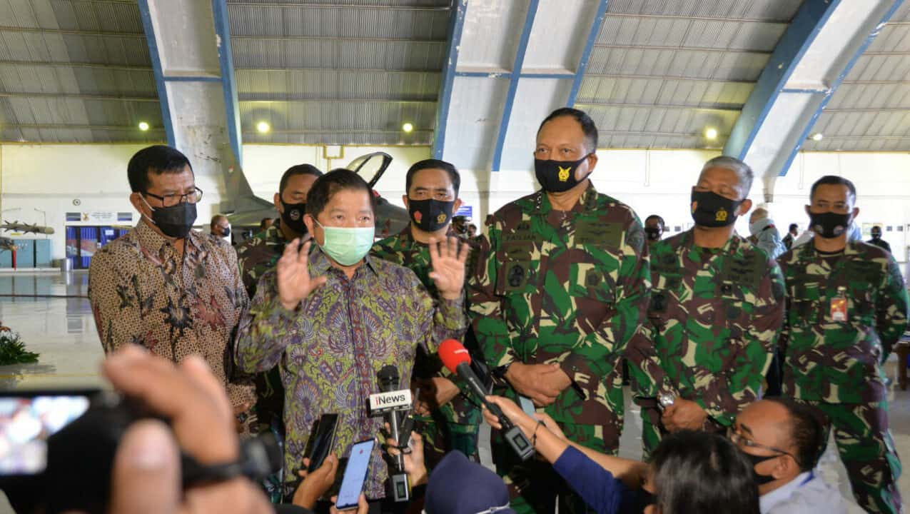Menteri PPN/Ka Bappenas RI, Apresiasi Program Falcon Star-eMLU yang dilaksanakan TNI AU.