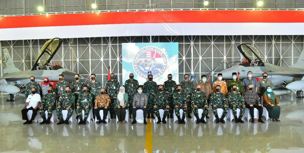 Pesawat F-16 Program Falcon Star-eMLU Perkuat Skadron Udara 3, Lanud Iswahjudi