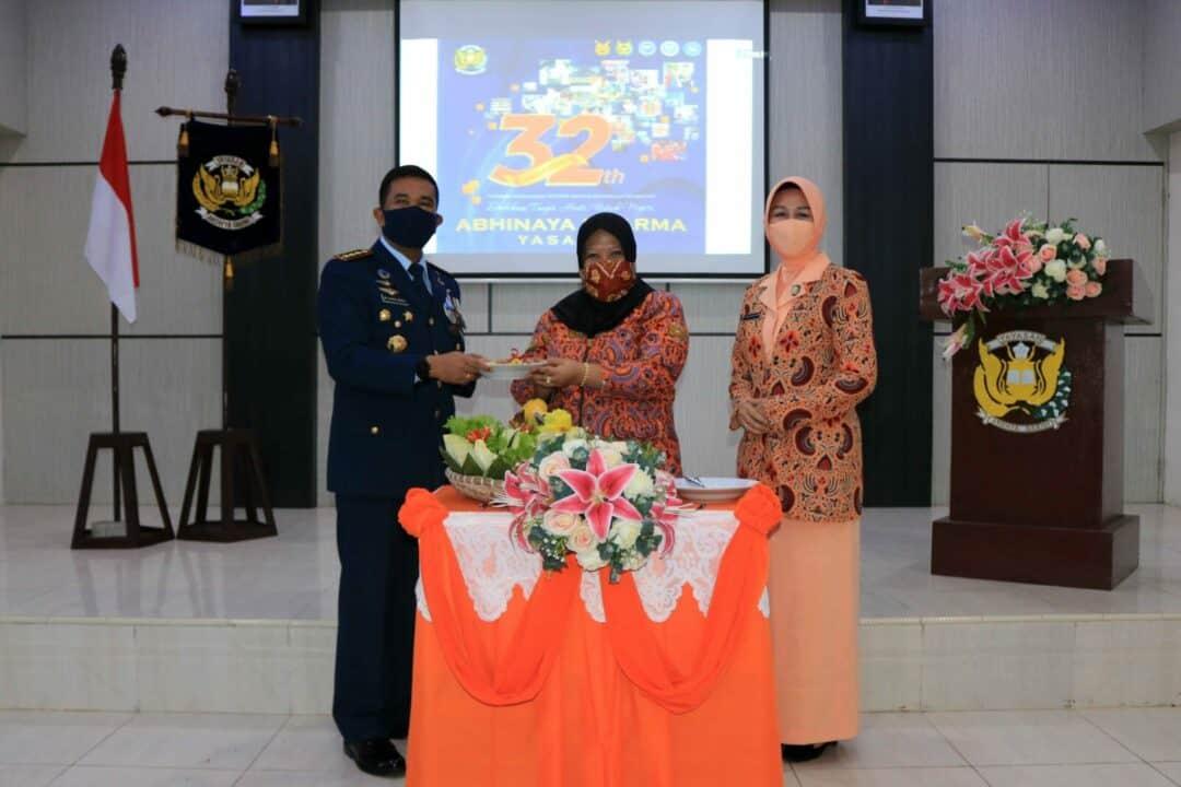 Syukuran HUT Yasarini Ke-32 Tahun 2020 di Lanud Sjamsudin Noor