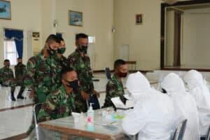 Siswa Skadik, Guru-Staf Yasarini, dan Anggota Lakukan Rapid Test