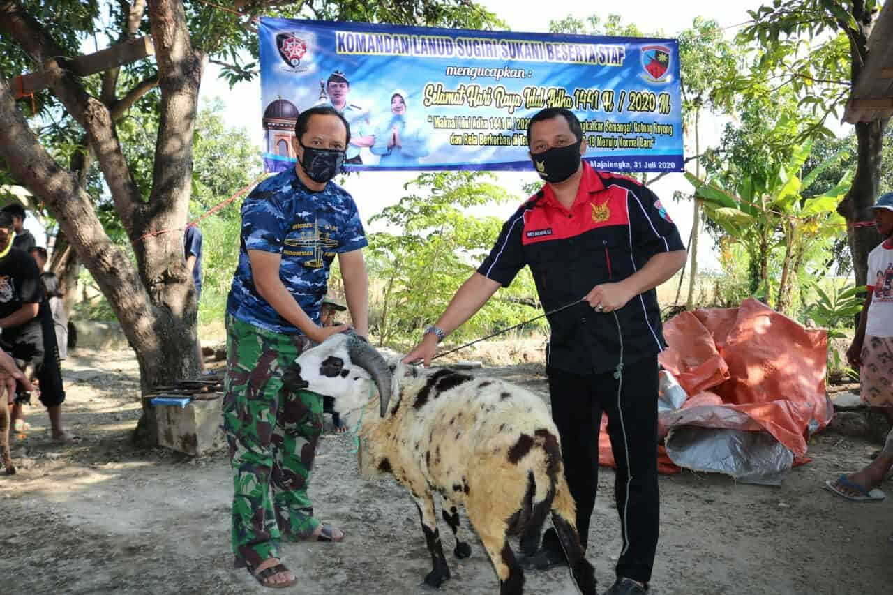 Rangkaian Kegiatan Perayaan Hari Raya Idul Adha 1441 H di Lanud Sugiri Sukani, Tetap Menerapkan Protokol Kesehatan