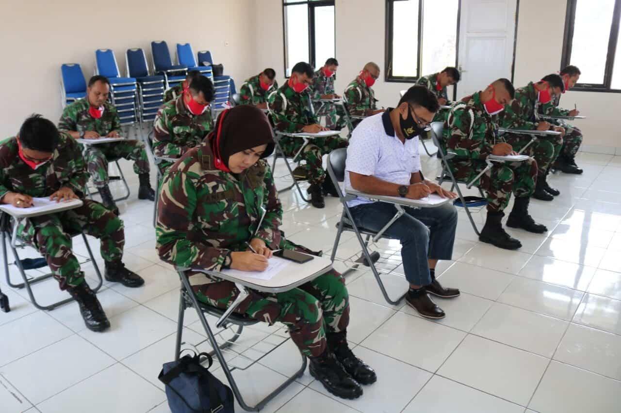 Pangkalan TNI AU Sugiri Sukani Menyelenggarakan Tes Psikologi Senjata Api