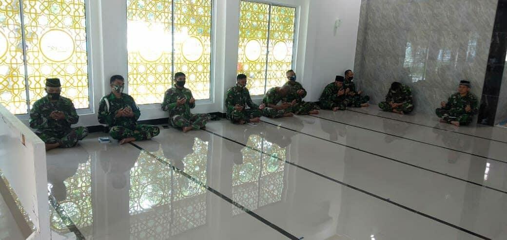Lanud Sugiri Sukani Gelar Doa Bersama di Masjid As-Salam Lanud Sugiri Sukani