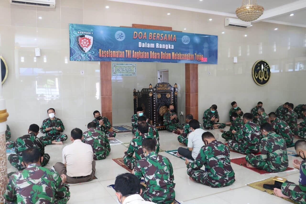 Doa Keselamatan TNI AU dalam menjalankan Tugas dari Koopsau I
