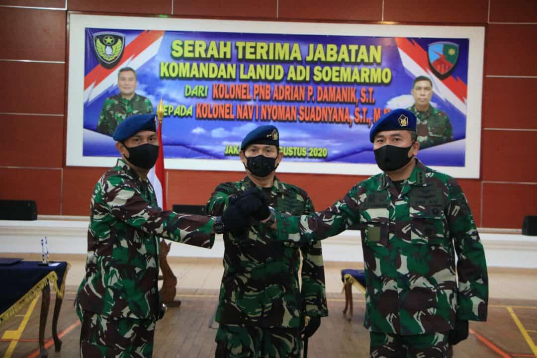 Kolonel Nav I Nyoman Suadnyana Jabat Danlanud SMO