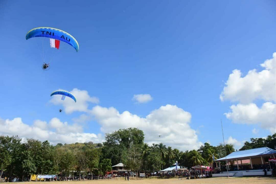 Pelangi Nusantara 2020, Wujud Konkret Bakti TNI AU di Nangaroro