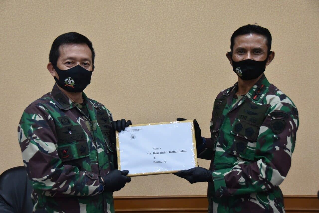 Dankoharmatau Pimpin Acara Taklimat Akhir Wasrikkap Itjen TNI AU