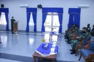Personel Lanud Halim Terima Penyuluhan Kesehatan Covid-19
