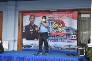 Peringatan HUT ke-68 Lanud Halim Danlanud Halim: Selalu Semangat, Fokus dan Beri Pengabdian Terbaik