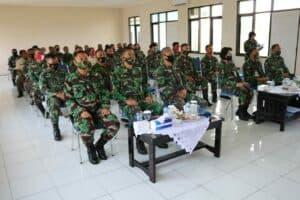 Tim Sosialisasi Pembinaan Personel TNI AU Spersau Mabesau Melaksanakan Sosialisasi di Lanud Sugiri Sukani