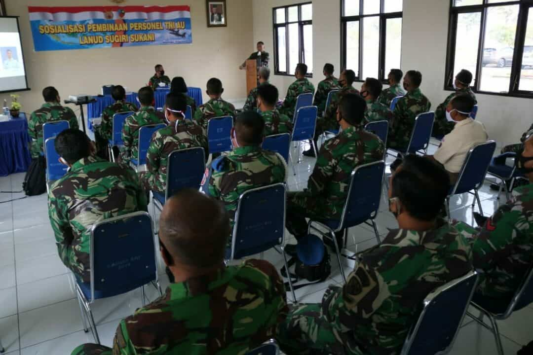 Tim Sosialisasi Pembinaan Personel TNI AU dari Spersau Mabesau