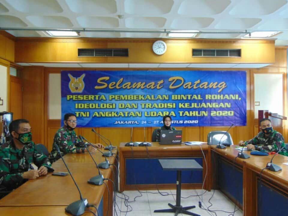 Aspers Kasau Buka Pembekalan Bintal TNI AU Tahun 2020
