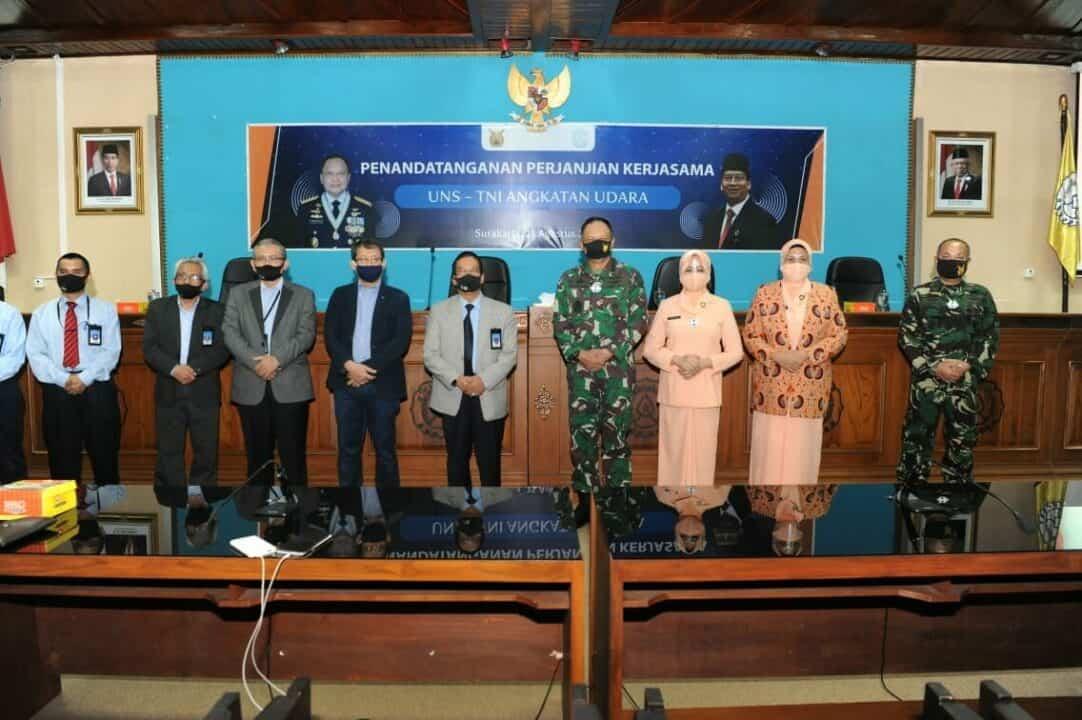 Bangun SDM Unggul, TNI AU Gandeng UNS