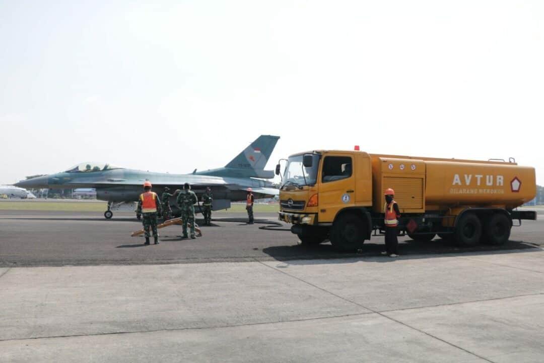 "Dukung Latihan ""Cakra A"", BMP Lanud Halim Sukses Laksanakan Hot Pit Refueling"