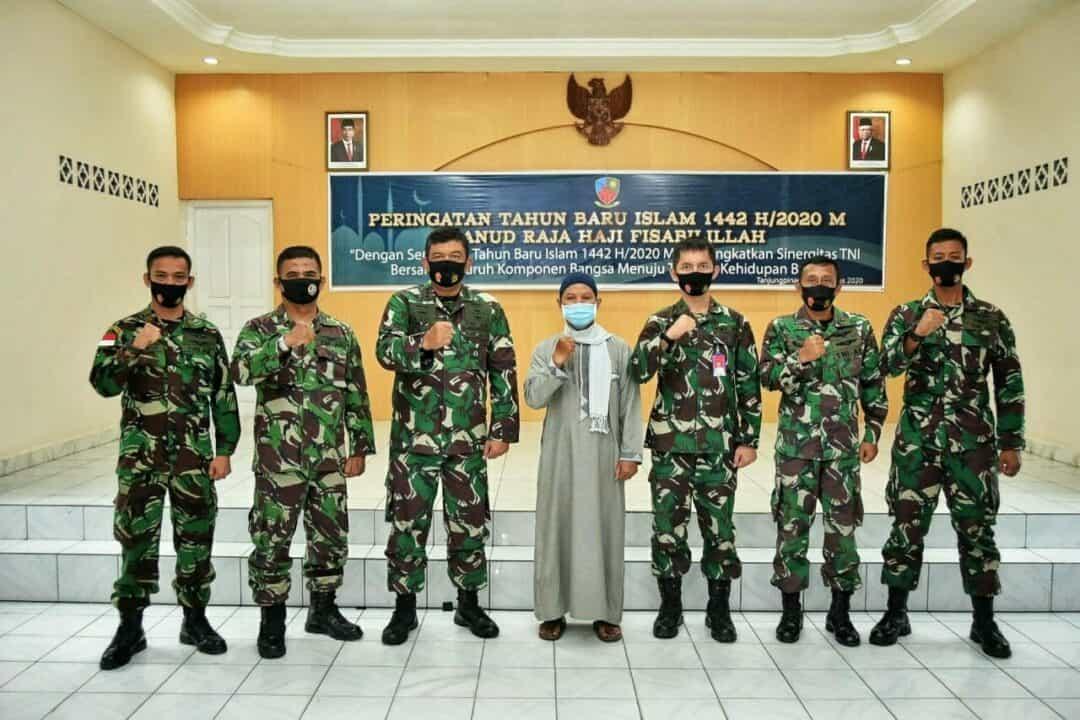 Peringatan Tahun Baru Islam 1442H/2020M di Lanud RHF