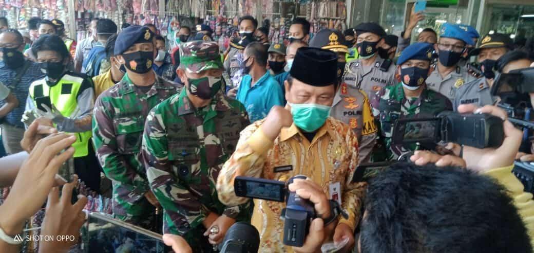 Apel Gabungan Dalam Rangka Operasi Yustisi Penegakan Protokol Kesehatan Covid-19 di Banjarmasin