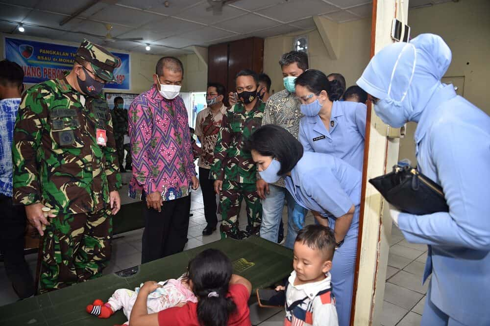 Baksos Kesehatan Operasi Gratis Bibir Sumbing di RSAU dr. M. Sutomo Lanud Supadio