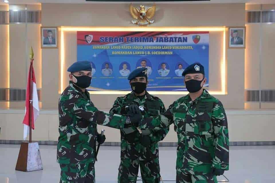 Jabatan Danlanud RSA Natuna di Serah Terimakan