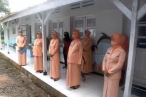 Peresmian Gedung Perpustakaan TK Angkasa Kota Tasikmalaya