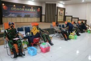 Menjelang HUT ke-75 TNI, Lanud Rsn Kucurkan Darah Segar