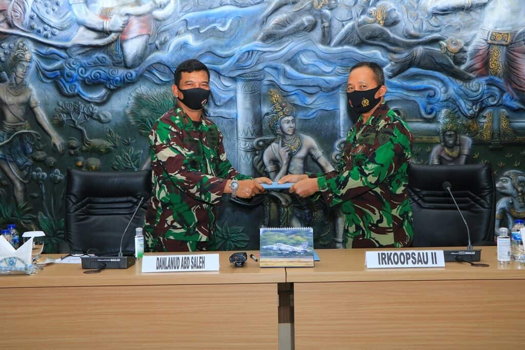Inspektorat Koopsau II Selesaikan Wasrik di Lanud Abd Saleh