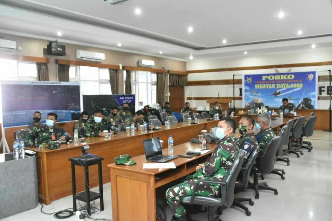 Menjelang Pelaksanaan Operasi Udara Malam Hari, Lanud Iswahjudi Gelar Base Brief