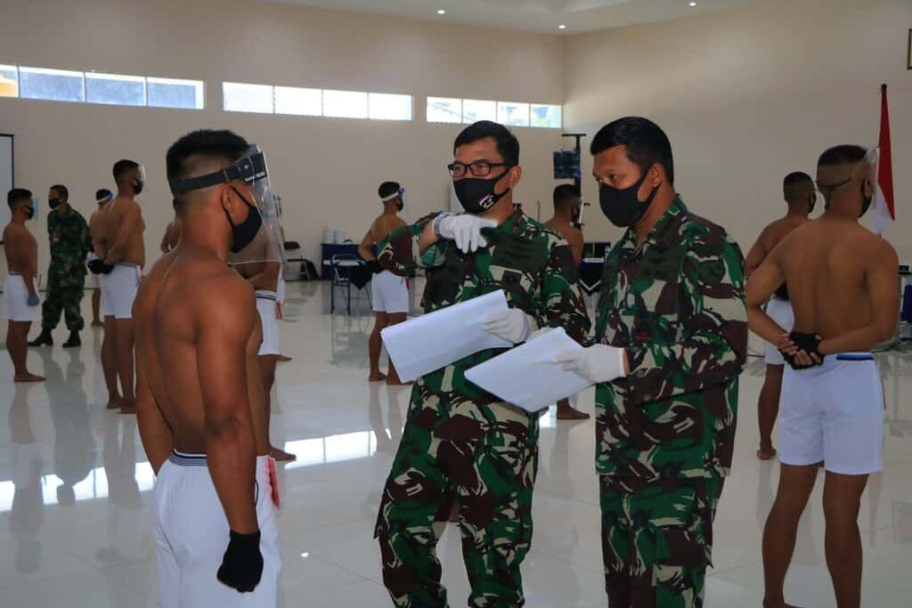 Sidang Panthukir Catam TNI AU Tahun 2020 Panda Lanud Abdulrachman Saleh