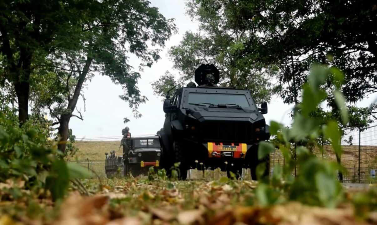 Yonko 466 Paskhas Berhasil Merebut Pangkalan Udara Yang Telah DIikuasi Musuh