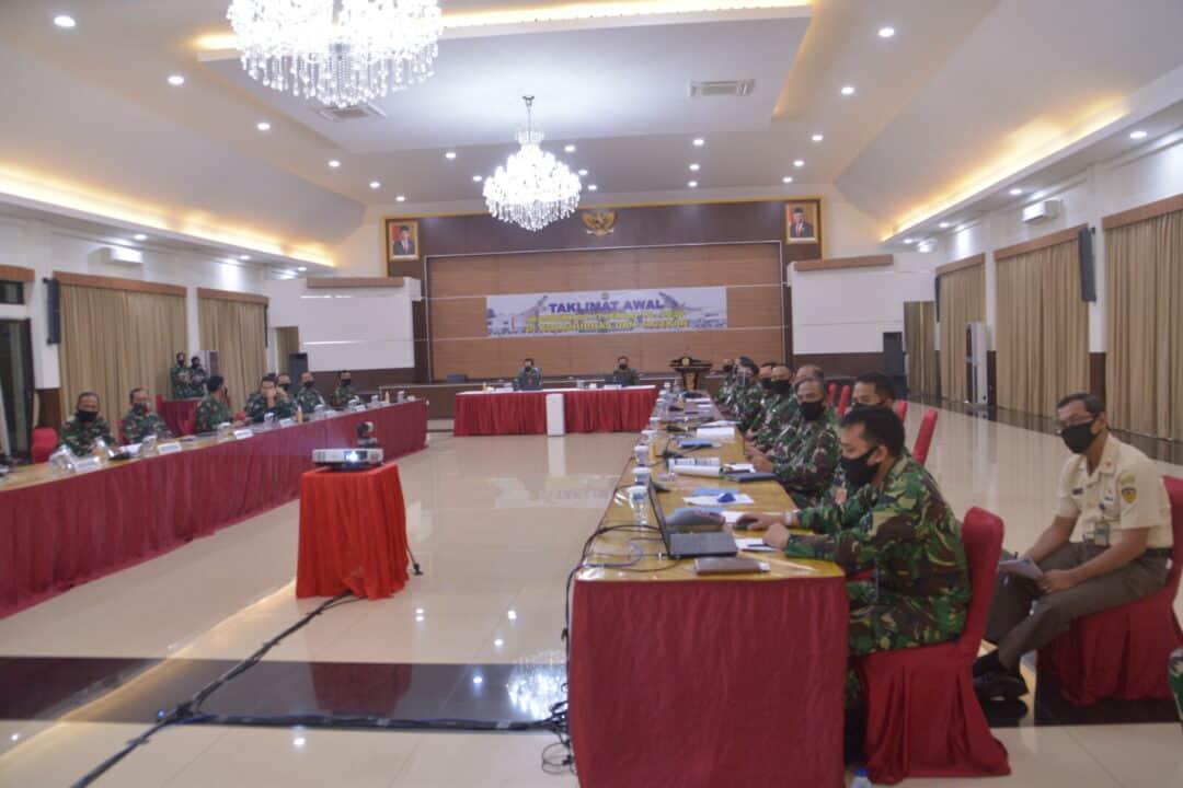 Taklimat Awal Wasrikkap Itjenau TA.2020 di Kohanudnas dan Jajaran