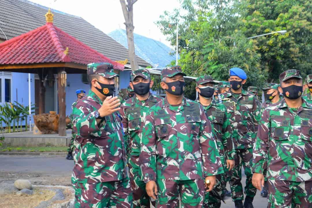 Pangkoopsau II Laksanakan Kuker di Lanud I Gusti Ngurah Rai