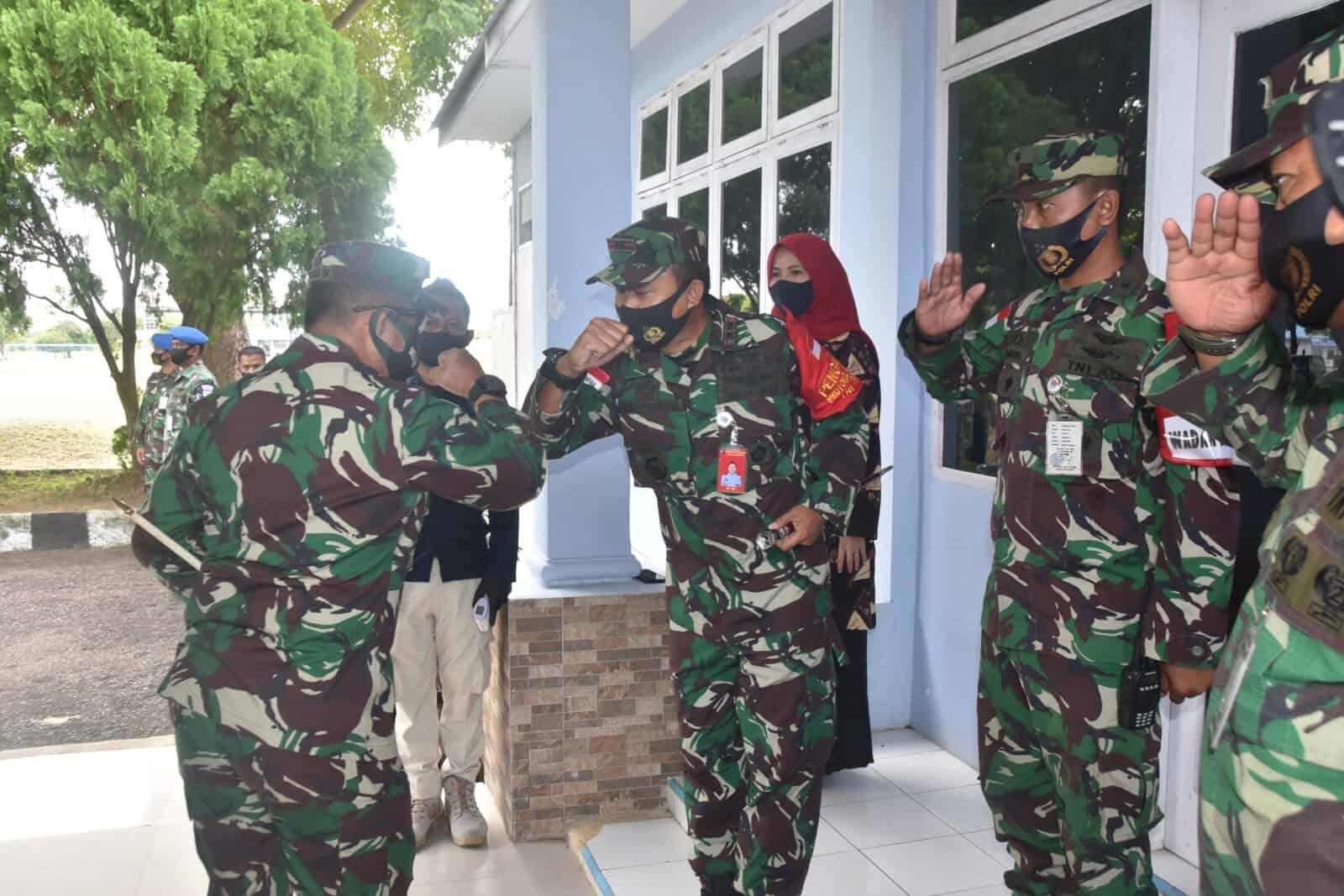 Perkuat Sinergitas PANGDAM IM Laksanakan KUNKER Ke Pangkalan TNI AU Maimun Saleh.