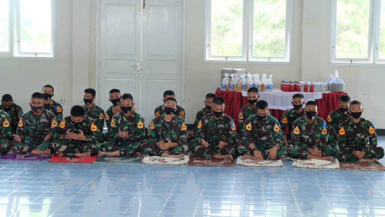 Doa Bersama Dalam Rangka Praktek Terjun Susparadas Angkatan Ke-188