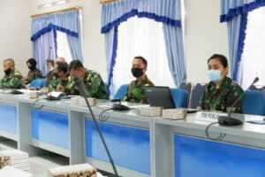Rapat Pokja I Penyusunan Validasi Organisasi Wingdik 200/ Lek Lanud Sulaiman