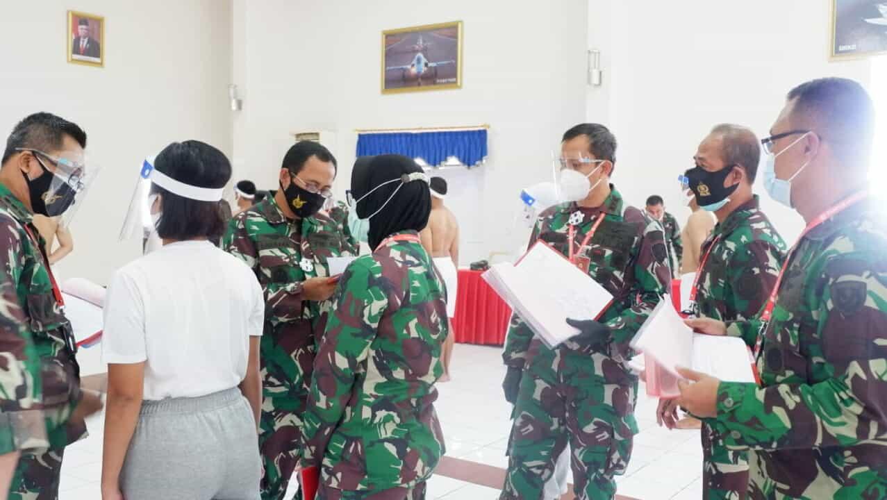 Sidang Pantukhir Seltipus Penerimaan Mahasiswa Bea Siswa TNI Tahun 2020