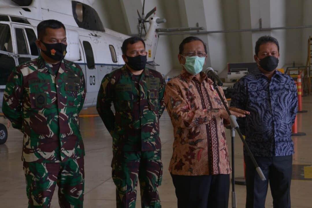 Kohanudnas Gelar Latihan Bersama Penanganan Paska Force Down Bersama Dengan 12 Kementrian dan Lembaga