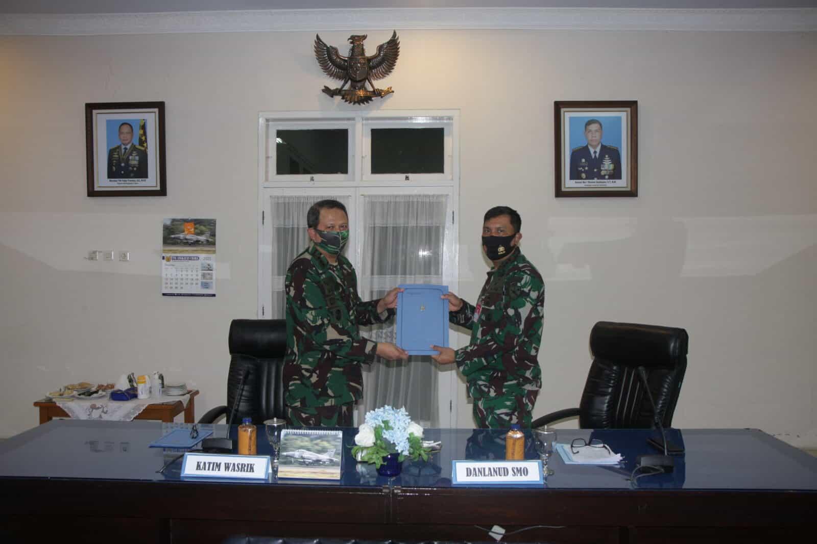 Exit Briefing Wasrikkap Itjenau Di Lanud Adi Soemarmo