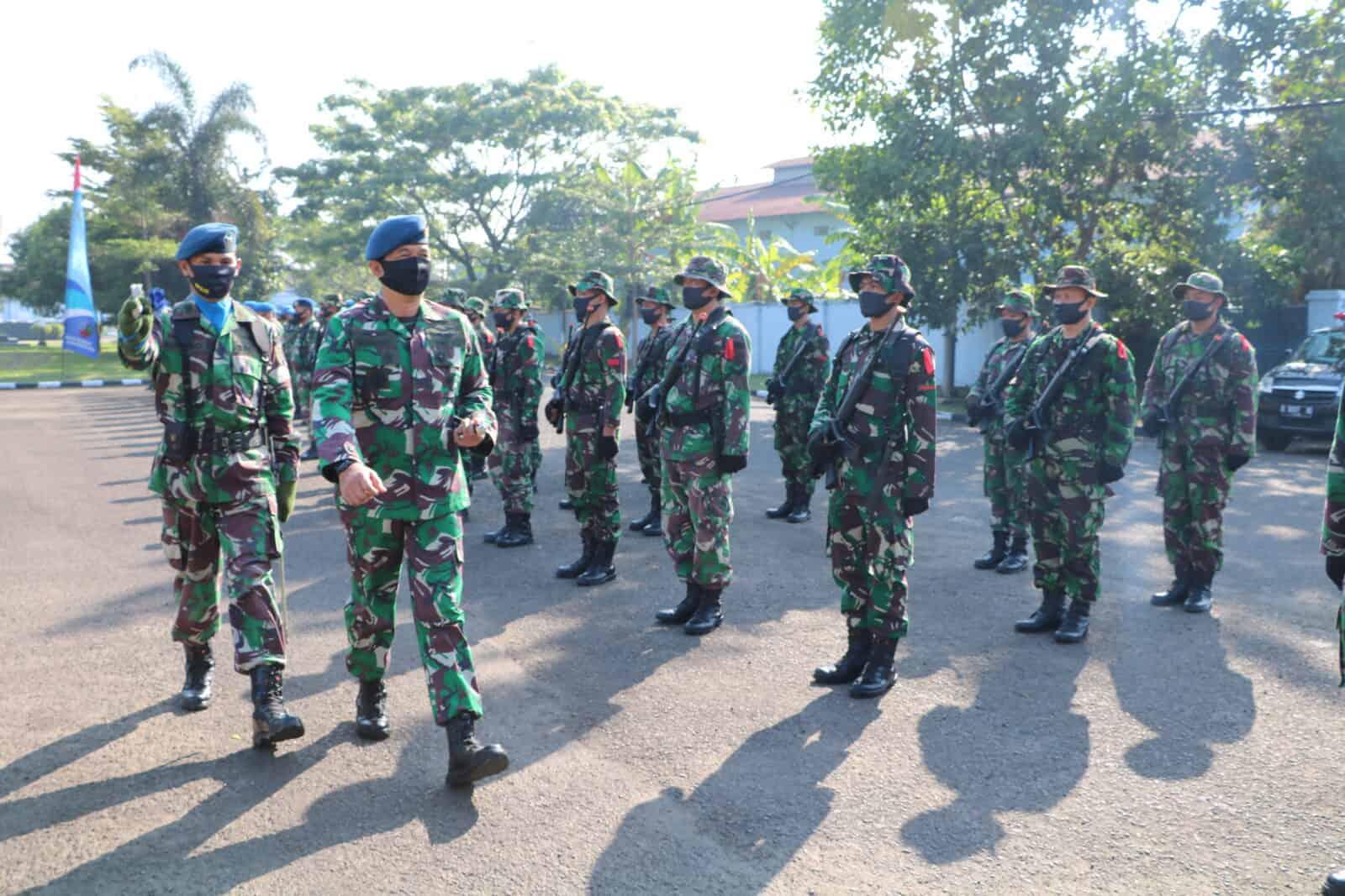 Tingkatkan Kemampuan Prajurit Lanud Husein Sastranegara Gelar Latihan Hanlan