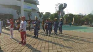 Kontingen Mabesau Juara I Lomba Senam (SAH) 2020