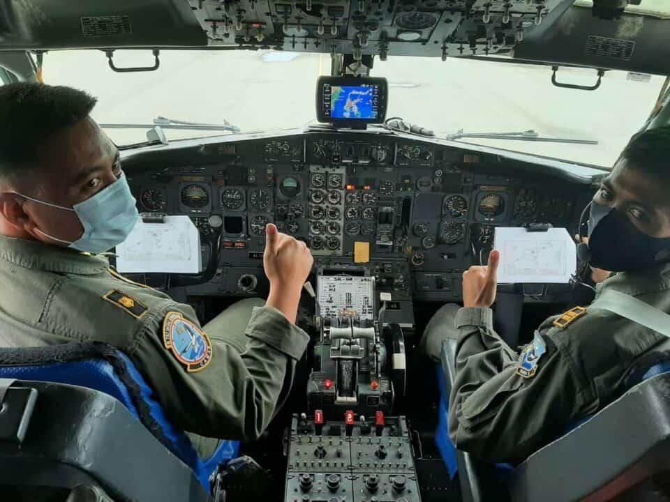 Operasi Sayap Tarsius oleh TNI AU di Perairan Laut Sulawesi