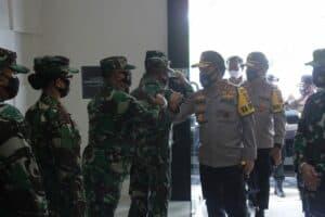 Kunjungan Kapolda SULUT ke Pangkalan TNI AU Sam Ratulangi*