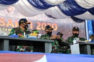 Jalak Sakti 2020, Koopsau I Gelar Kekuatan Latihan OMSP di Banda Aceh