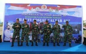 ALTAR '89 Laksanakan Bakti Sosial di Lanud Sultan Iskandar Muda, Aceh
