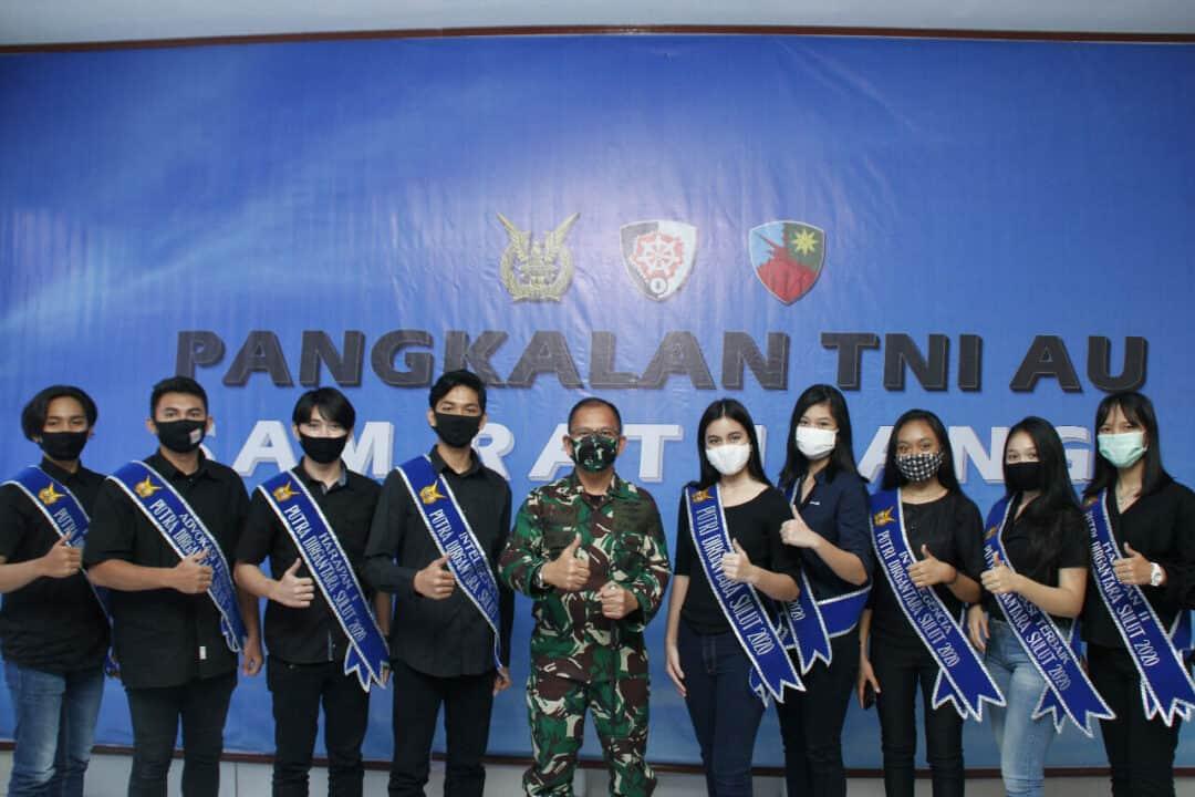 *Komandan Pangkalan TNI AU Sam Ratulangi Sambut Putra Putri Dirgantara Sulut*