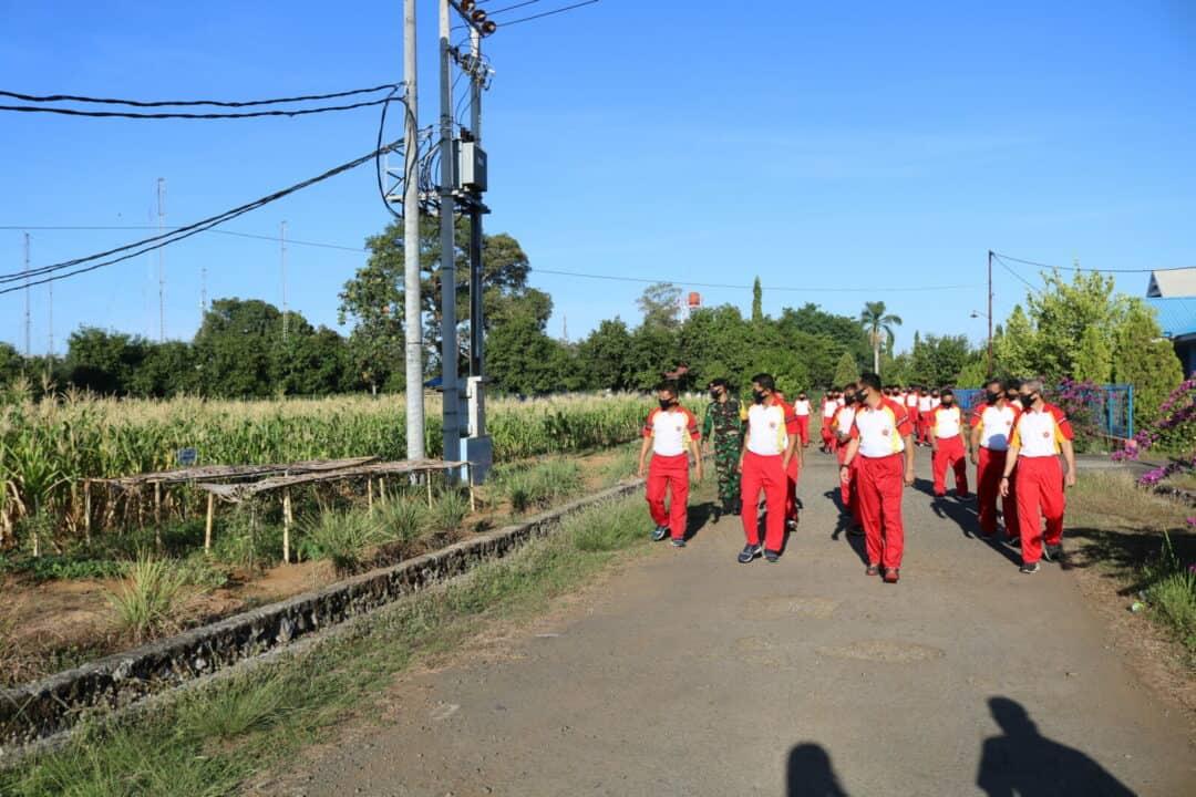 """""""Kaplin Pamacarik"""" Upaya Mencegah Covid -19 di Kosekhanudnas II"""