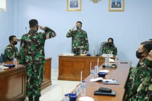 Exit briefing Tim Wasrik Itjenau di Wingdikum